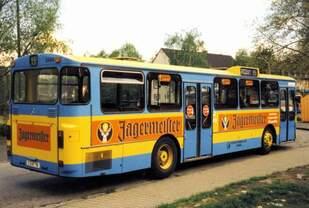 KOM 3468 an der Haltestelle Achternbergstraße in Gelsenkirchen
