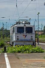 Auch am 21.06.17 stand die inzwischen weitgehend beschmierte 109-2 der Georg Verkehrsgesellschaft auf ihrem Stammplatz im Bahnhof Lichtenberg.